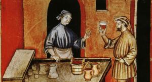Medieval wine