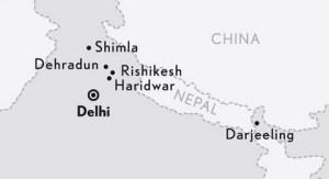 Mapa de Darjeeling