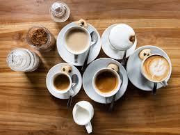 café italiano, variedades