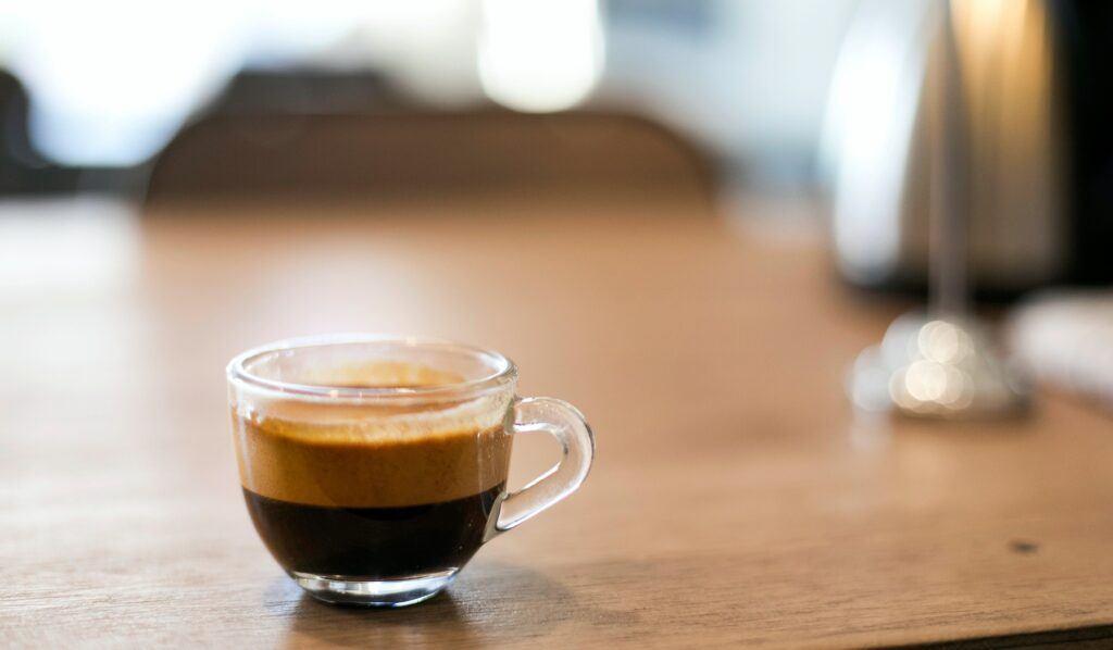 un espresso, la base del café italiano